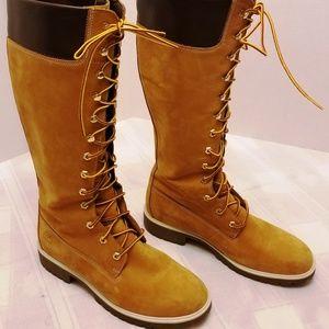 """NWOB Timberland 14"""" Premium WP Knee High Boots. 9M"""